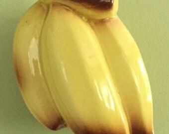 Vintage Ceramic Bananas Wall Pocket