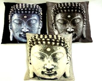 BUDDHA HEAD cushion cover