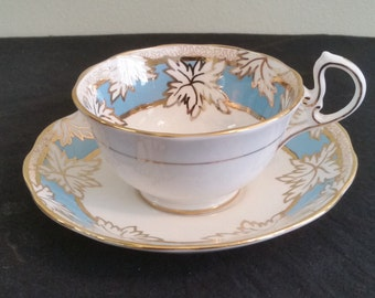 ROYAL ALBERT Maple Leaf Cup and Saucer