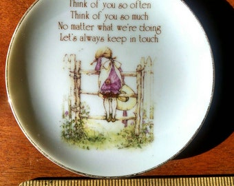 Holly Hobbie plates