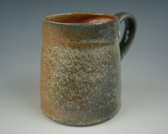 Mug - Anagama Wood Fired - Raw Ash Glaze