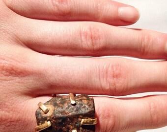 Lake Michigan Stone Ring