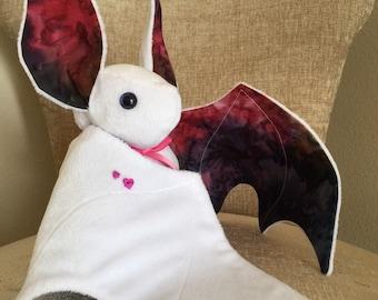 ALL FOR LOVE Large Bat Plush