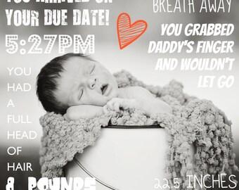 Newborn Infographic