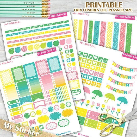 mothers day planner stickers spring printable planner. Black Bedroom Furniture Sets. Home Design Ideas