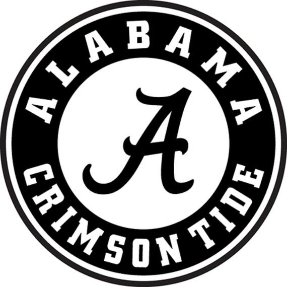 Alabama crimson tide football car wall truck by for Alabama football wall mural