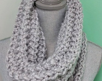 Cowl Scarf,  Ribbed Scarf, Infinity Scarf