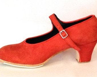 Fabulous New Handmade Real Leather Flamenco Dance Shoes With Nails