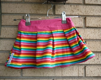 Skirts with flight or artisan point flyers