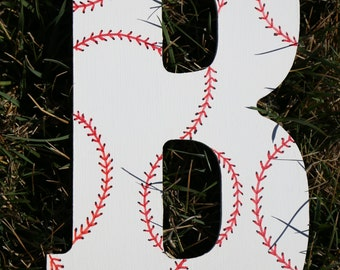 Baseball Stitching Alphabet Letter, Baseball Alphabet Letter, Alphabet Letter, Sports Letter