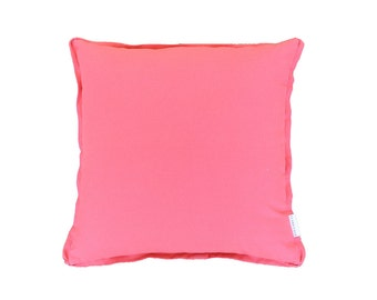Canvas Pillow Cover pink