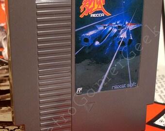 Recca Famicom for Nintendo NES Fan Made Game.