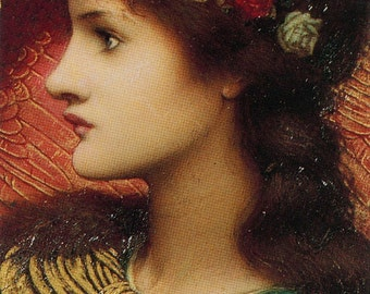 PATRON of MUSIC Notecards - Pre-Raphaelite  - Boxed Set of 10 with Envelopes and Wallet