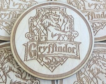Gryffindor House Coaster Set