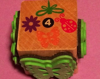 4 in 1 Flower/Insect Combo Stamp