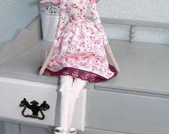 Tilda doll - Angel doll - Christmas Gift- Handmade - Vintage - Gift - Home decoration - Home decor - Interior
