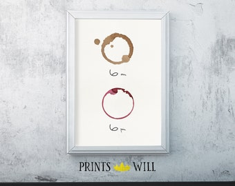 Kitchen Wall Decor, But First Coffee, Wine Decor, Coffee Decor, Kitchen Decor, Office Decor, Kitchen Art, Kitchen Wall Art, Office Wall Art