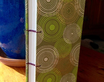 "Ripples Hardcover Journal 3"" X 7"""