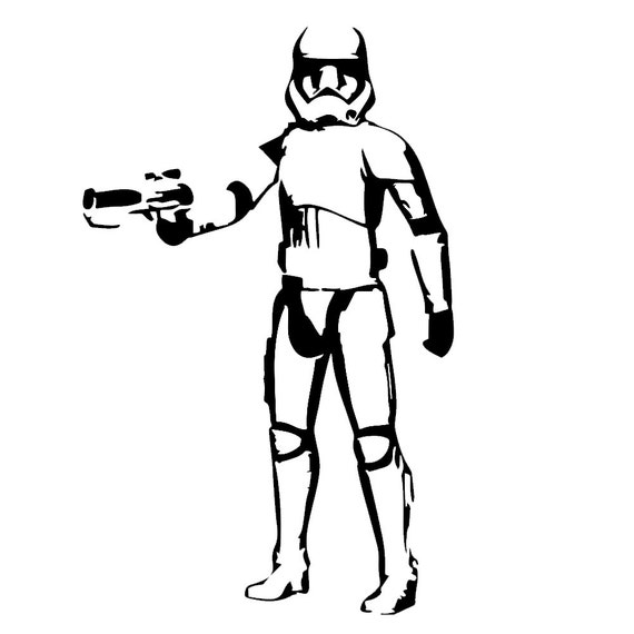 Decal Serpent Sp 748 Stormtrooper Body Silhouette Inspired