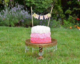 Cake Topper (Hebrew or English)