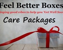 FEEL BETTER BOXES - Get Well Soon Gift Baskets. Unique, Made-to-Order, and One-of-a-Kind. Custom Care Packages. Specialty Gourmet Goodies.