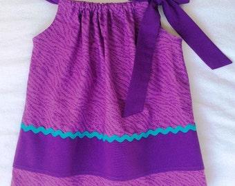 Little Girl Dress, Animal Print Dress, Baby Girl Dress, Toddler Dress, Pillowcase Dress, Party Dress, Baby Clothing