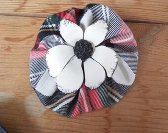Handmade retro brooch