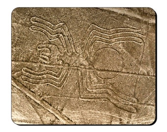 Mouse Mat - Nazca Lines - Ancient Site Geoglyphs in Peru Mouse Pad AS113