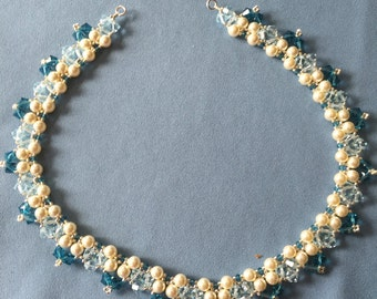 Beaded Swarovski Necklace