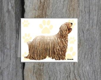 Komondor Note Cards