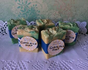 Lemon Myrtle Goats Milk Gift Soap