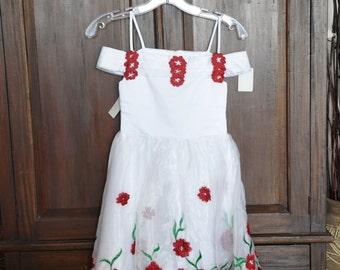 Easter dress, childs size 4 dress, childs size 6 dress, little girl dress, special occasion dress, flowergirl dress, pagent dress,