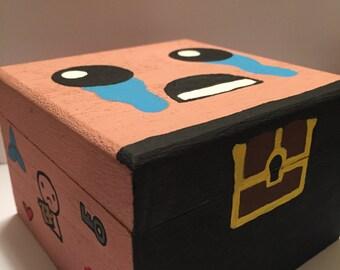 Binding of Isaac Hand Painted Box