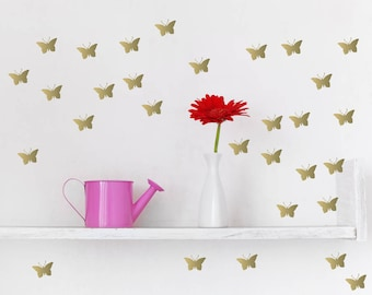 Butterfly Wall Decal, Butterfly wall decor, Nursery Wall Decal, butterfly decoration, Room Decor, Butterfly wall art, butterfly wall sticker