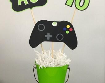 Xbox birthday centerpiece