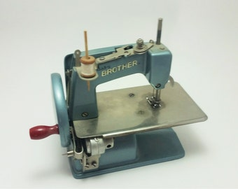 Vintage Baby Brother Toy Sewing Machine