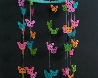 Colorful Butterfly Mobile