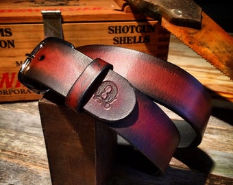 Custom Handmade Leather Belt