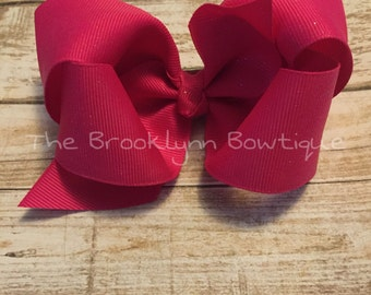 Twisted Boutique Bow-4 inches
