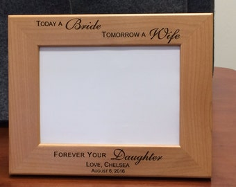 Personalized Mother of the Bride Picture Frame, Personalized Mother of the Groom Picture Frame, Personalized Mother of the Bride Gift
