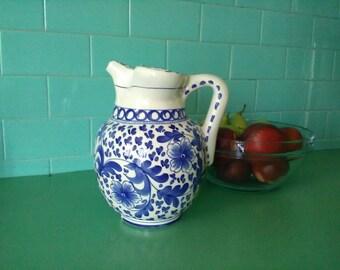 Pitcher Cameron Este/water jug/Door/Ceramica Italian wine