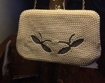 Vintage Pearl Handbag