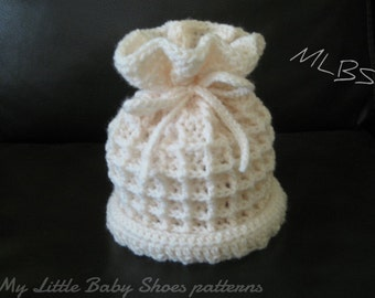 PDF Crochet pattern Baby hat Instant Download Nr.16