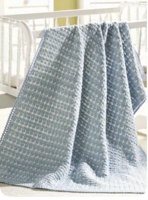 Crochet pattern Baby blanket afghan PDF Instant Download Nr.140