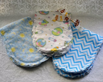 Handmade Baby Burp Cloths