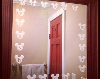 Mickey Bathroom Decals