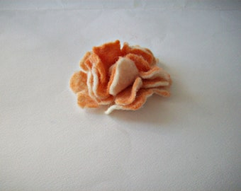 felt flower, felt brooch