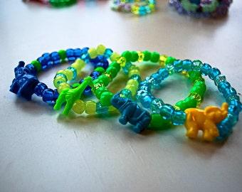 Kandi Bracelet Animal Set of 8