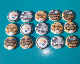 Steelers Cutie Buttons Set of 15