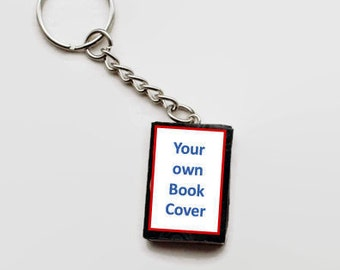 Personalized / custom book keyring